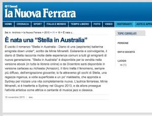 Stella su La Nuova Ferrara